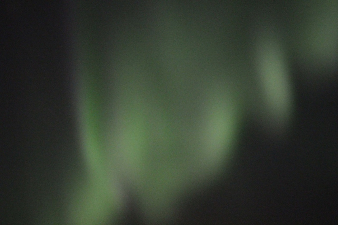 Day 8. Northern lights outside Hótel Búðir.