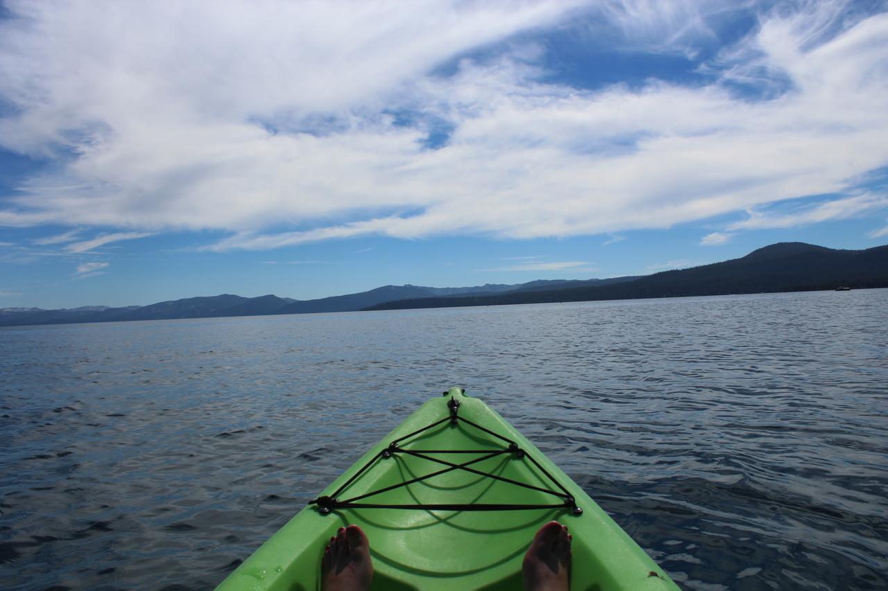 Day 4. Kayaking Lake Tahoe